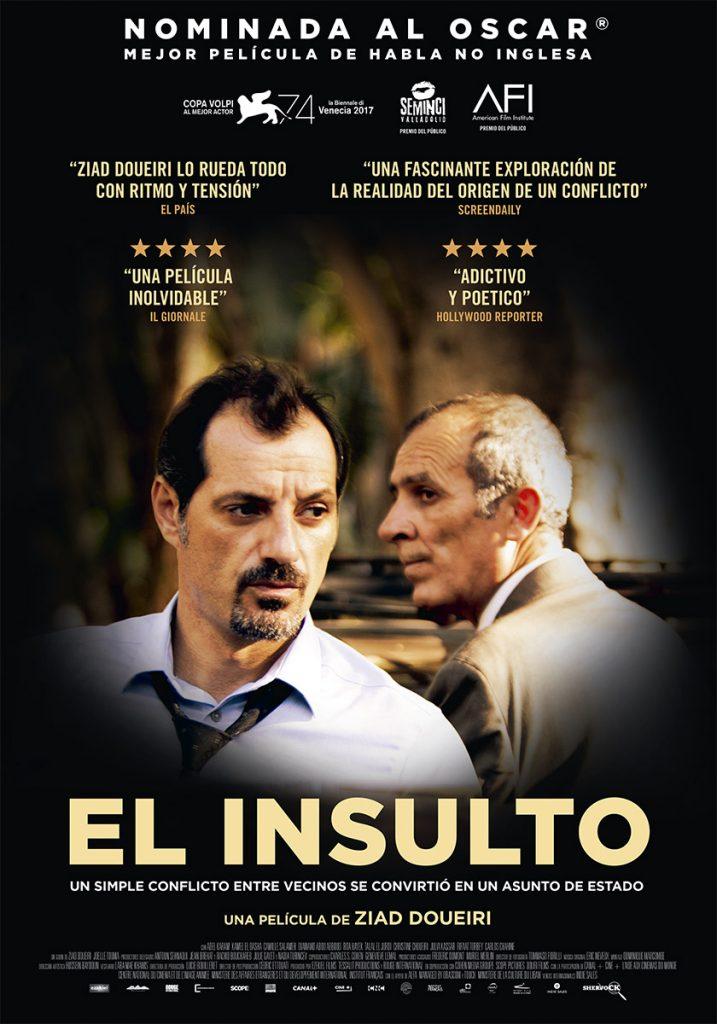 Poster El insulto